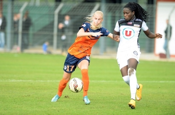 Sofia Jakobsson et le MHSC doivent réagir à Metz. Pour Mbock et l'EAG, Juvisy se profile (photo MHSC)