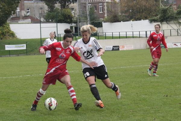 Rachel Saïdi, positionnée plus bas, a livré un match solide