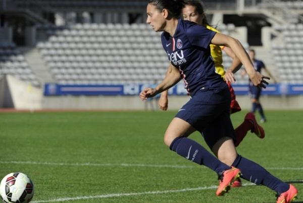 Ce sera la deuxième sélection d'Aurélie Kaci (photo : PSG)