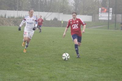 Premier match en D1 cette saison pour Stéphanie Delavallée.
