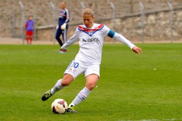 Sabrina Viguier, après l'OL, jouera chez le rival stéphanois (photo archive)