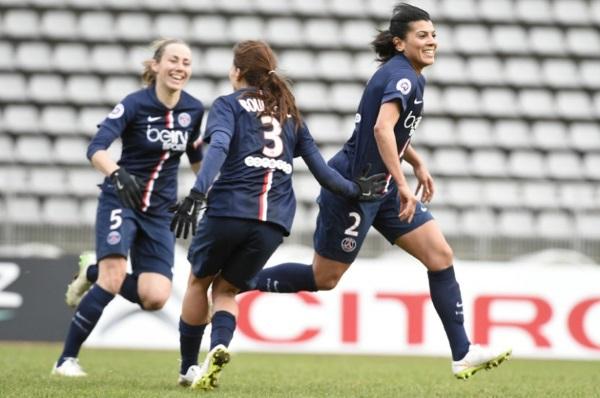 Kenza Dali a grandement contribué au succès de son équipe (photo PSG.fr)