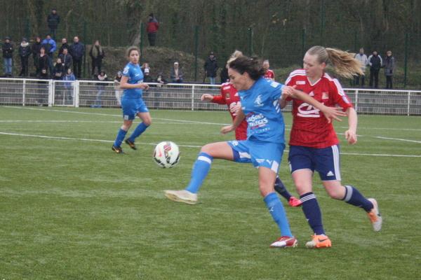 Beau duel entre Gwendoline Djebbar et Charlotte Saint-Sans Levacher