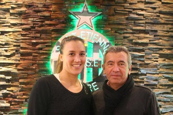 Arianna Criscione rejoint l'ASSE (photo club)