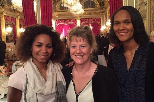 Laura Georges, Brigitte Henriques et Wendie Renard (image Twitter)