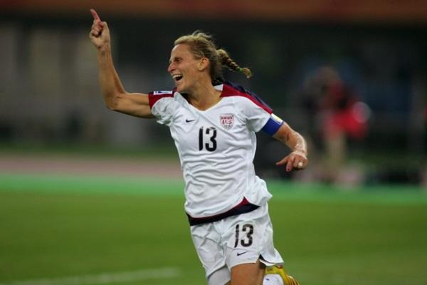 Kristine Lilly détient le record de sélections (photo US Soccer)