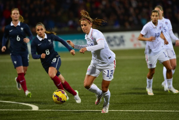Bleues - FRANCE - ETATS-UNIS : le replay du match