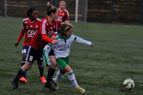 Julie Morel restera un an de plus dans le Forez (photo ASSE)