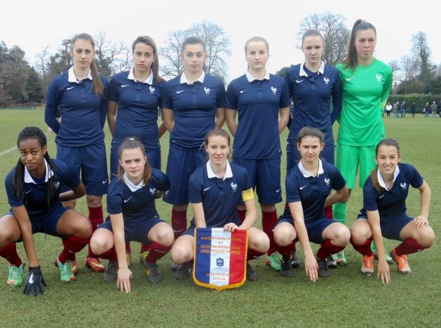 U17 - ANGLETERRE - FRANCE : 1-1 (tab 10-9)