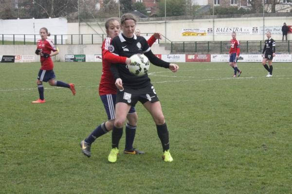 Les Arrageoises, malgré les quatre buts encaissés, se sont montrées rigoureuses.