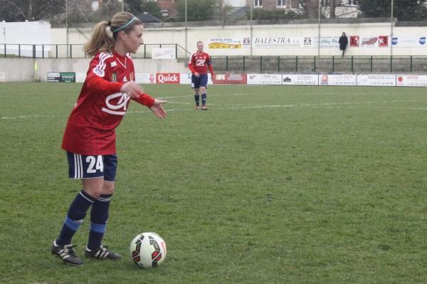 Jennifer Bouchenna, longtemps blessée, a joué son premier match de la saison en première division.
