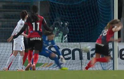 Deville s'incline, Dafeur exulte (image Eurosport)