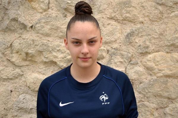 La gardienne de but Justine Lerond (photo FFF)