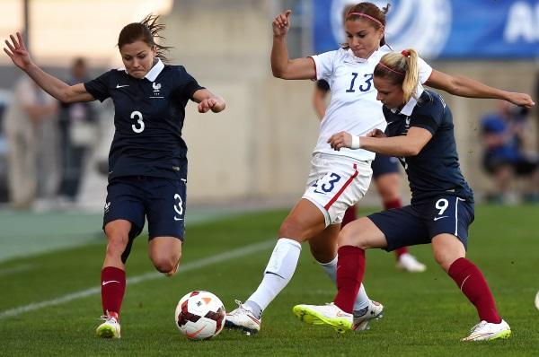 Laure Boulleau et Eugénie Le Sommer après un bon tournoi de l'Algarve retrouvent la sélection face au Canada, jeudi à Bondoufle