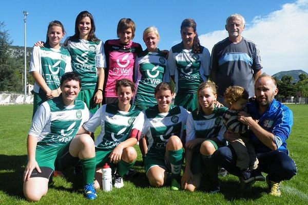 Une superbe saison des féminines de Lespignan (Photo : Club)