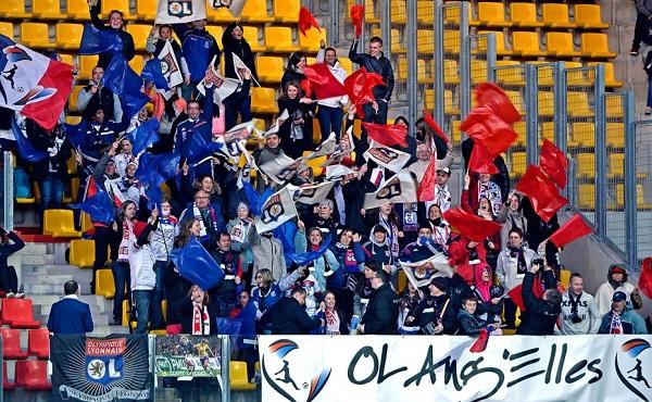 Les supporters de l'OL toujours présents