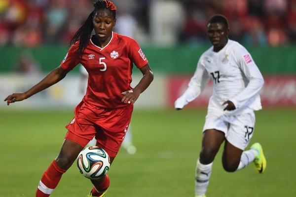 La défenseure canadienne Kadeisha Buchanan intéresse l'OL (photo Canadasoccer)