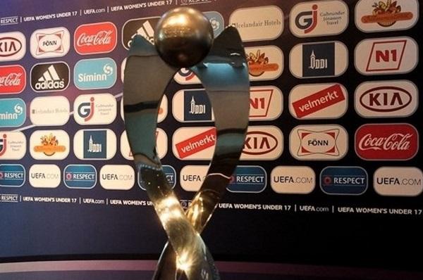Le trophée que l'Allemagne défendra (photo UEFA)