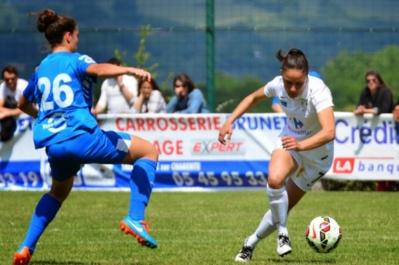 Sandrine Brétigny a marqué 12 fois cette saison (photo ASJ Soyaux)