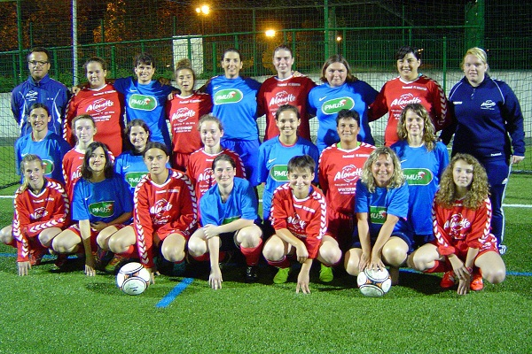 Les seniors féminines du FC Essartais. Photo DR