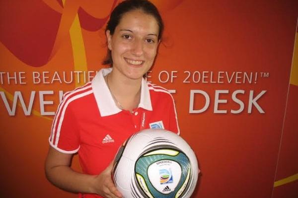 En 2011, Laetitia faisait partie de l'organisation de la coupe du monde en Allemagne....