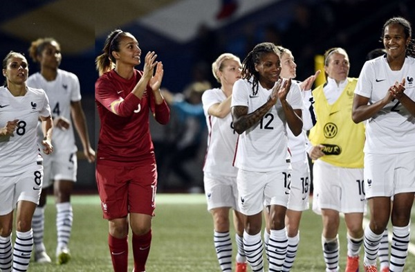 Wendie Renard et la France se sont imposées sans encaisser de but (photo FIFA.com)