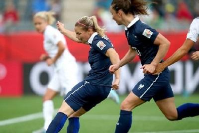 La frappe d'Eugénie fait la différence (photo FIFA)