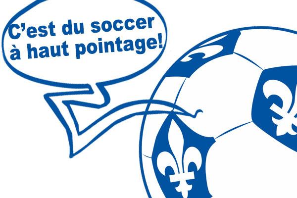 """Même en Français, difficile de tout comprendre quand on écoute un match de """"soccer"""" à la radio."""