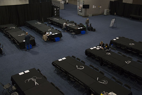 Le centre médiatique accueille les journalistes pour leur offrir un bon environnement de travail