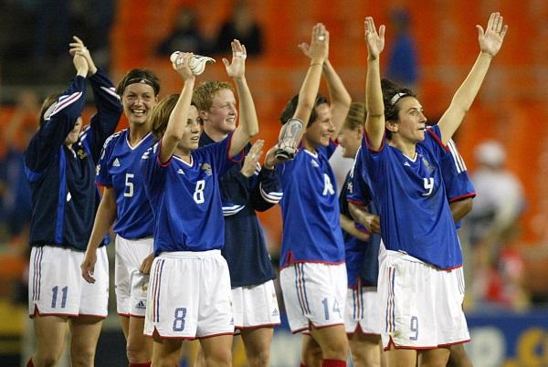Les Bleues ont décroché leur première victoire en Coupe du Monde (photo archive)