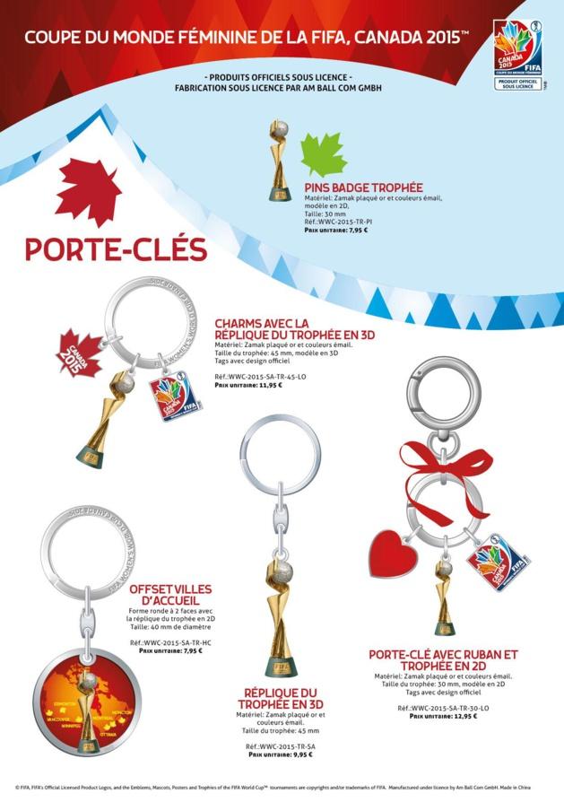 Coupe du Monde Canada 2015 - Découvrez les produits dérivés officiels...