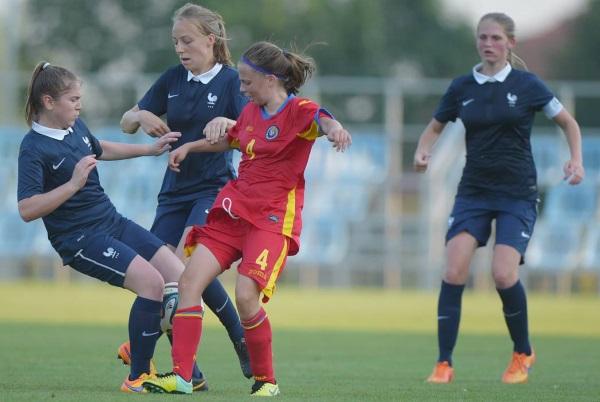 U16 - Nette victoire face à la ROUMANIE (6-0)