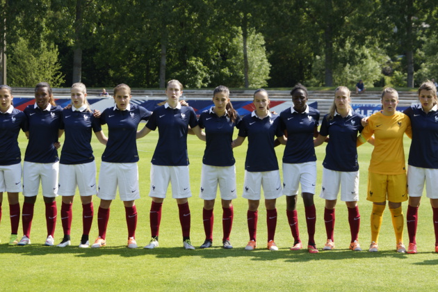 La France lors du dernier match face à l'Angleterre à Chartres (photo Sébastien Duret)