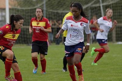 Fatoumata Baldé de retour avec La Roche (photo Sébastien Duret)