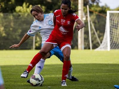 Zohra Ayachi après Montpellier et le PSG jouera en D1 avec Nîmes (photo OM.net)