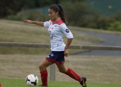 Clara Matéo était à l'Euro U19 cet été (photo Sébastien Duret)