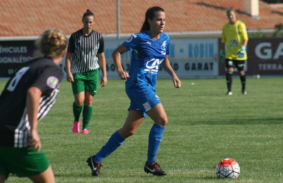 Mélissa Godart et Soyaux s'imposent 3-0 (photo C. Ringaud)