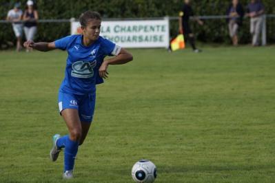Justine Deschamps, l'exemple d'une jeune qui a trouvé sa place en D1 (photo Sébastien Duret)