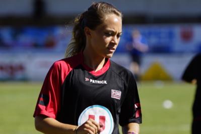 Charlotte Lorgeré de retour en Bretagne (photo Sébastien Duret)