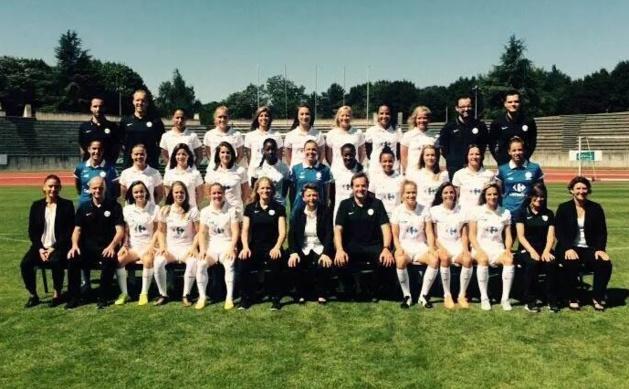 Le FCF Juvisy 2015-2016 (photo club)
