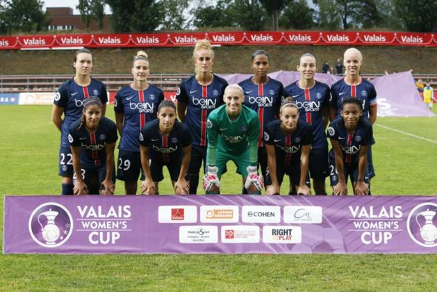 Le PSG lors du tournoi de la Valais Cup (photo PSG)
