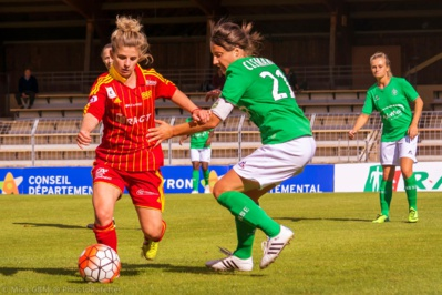 Laurie Cance et Maeva Clemaron (photo Mica GBM/Phootorafettes)