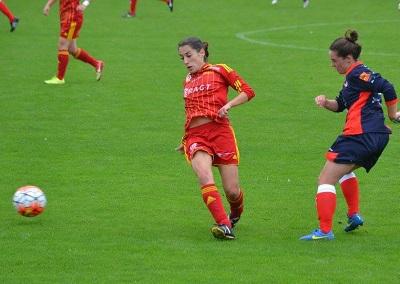 Deux buts en deux matchs pour Solène Barbance (photo Marie-Pierre Guillet)