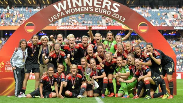 Les championnes d'Europe en titre allemandes débuteront vendredi face à la Hongrie (photo UEFA)