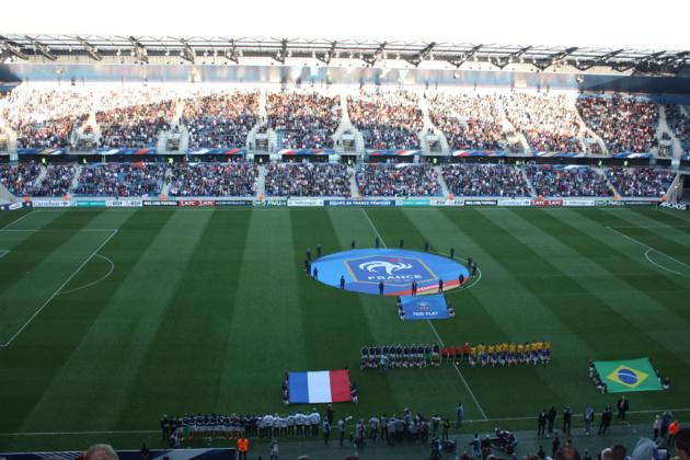 Bleues - FRANCE - BRESIL : 2-1 (Renard 37', Henry 55' ; Poliana 80')