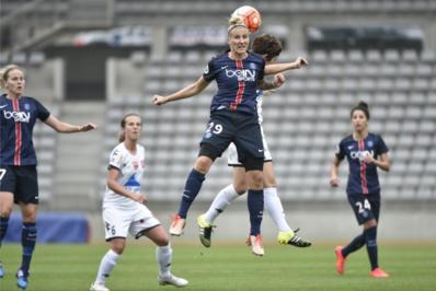 Mittag avec Cristiane ont été impliqués dans de nombreux buts (photo PSG.fr)