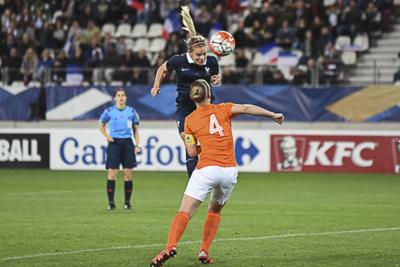 Bleues - Réactions des joueuses après FRANCE - PAYS-BAS