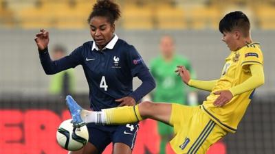 Laura Georges retrouvait les Bleues cette saison (photo UEFA.com)
