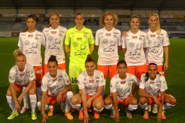 Montpellier avant le match contre Soyaux (photo Christophe Ringaud)