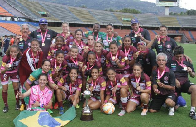 Copa Libertadores - Les Brésiliennes de FERROVIARIA, championnes d'Amérique du Sud